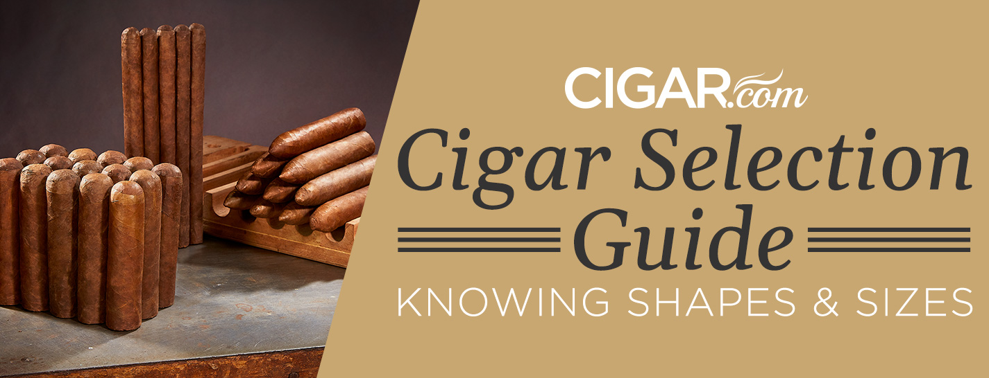 Cigar Sizes and Shapes