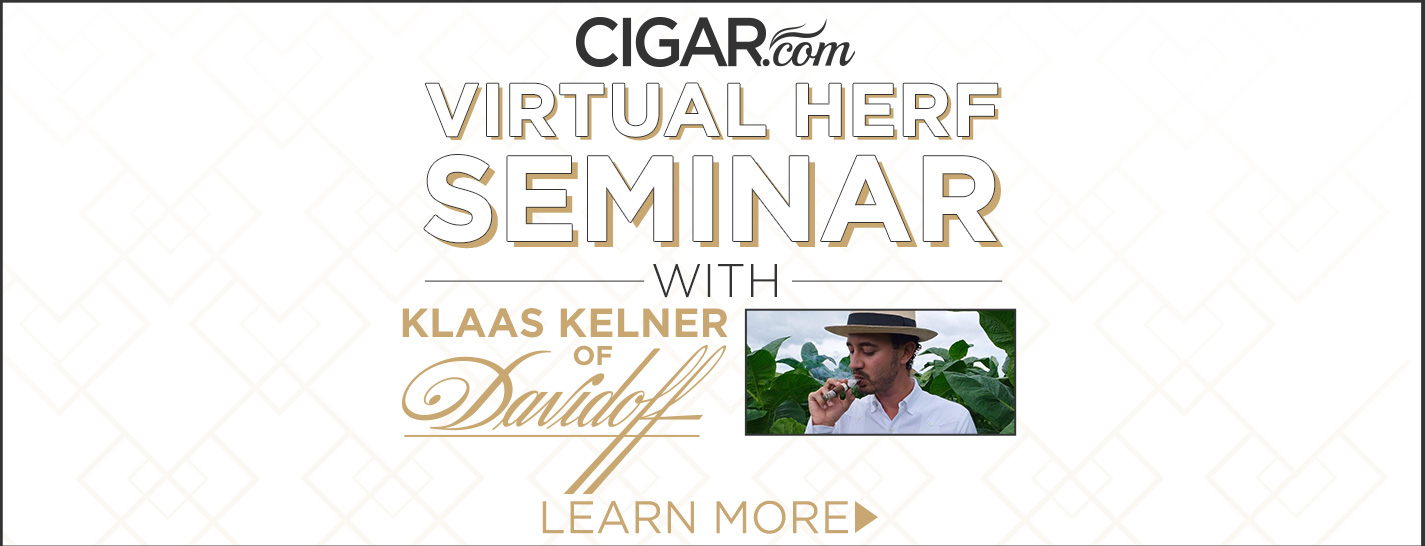 An Interview with Klass Kelner of Davidoff Cigars