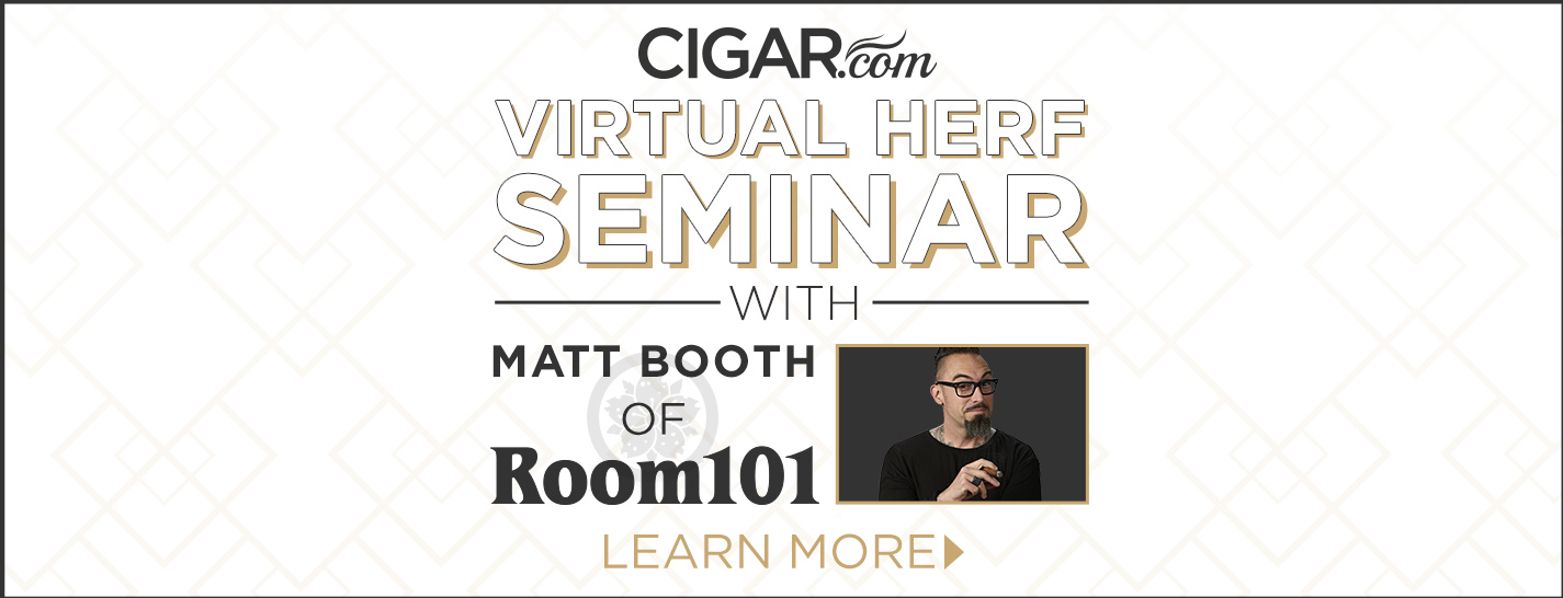 An Interview with Matt Booth of Room101 Cigars