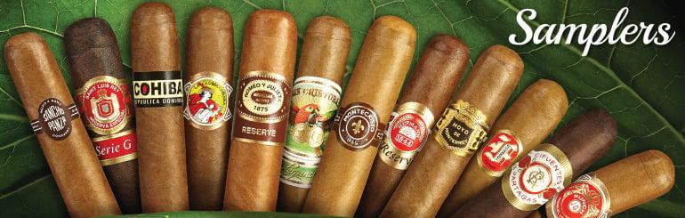 Buy Cigar Samplers at Cigar.com