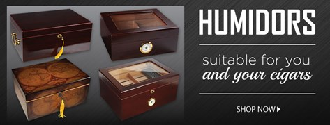 Humidors that are suitable for you and your cigars