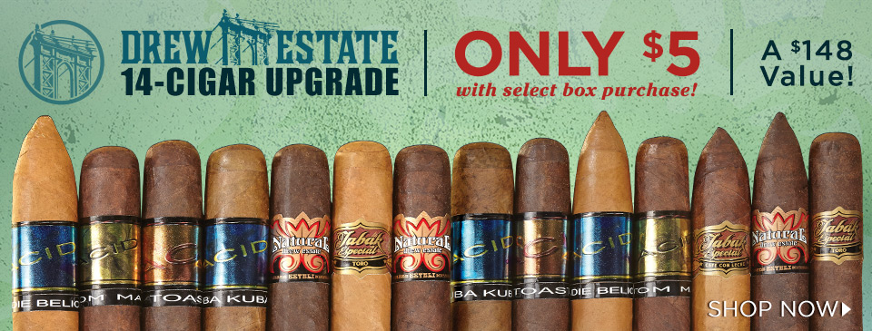 Drew Estate Infused Sampler only $5