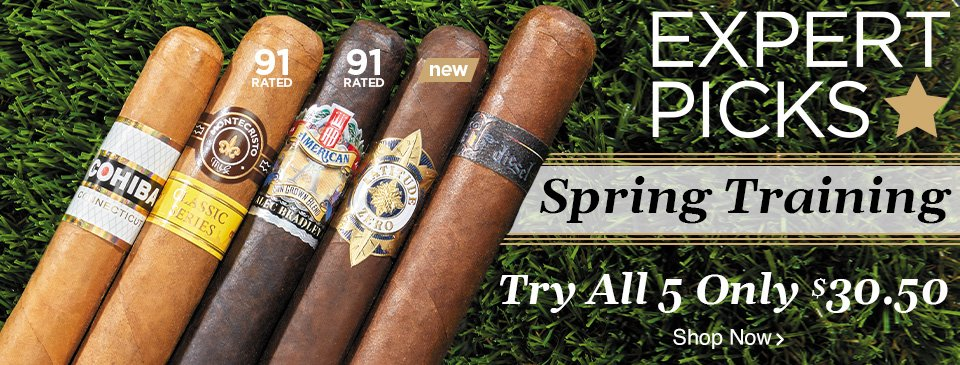 Expert Picks: Spring Training - Try All 5 only $30.50 - Shop Now!