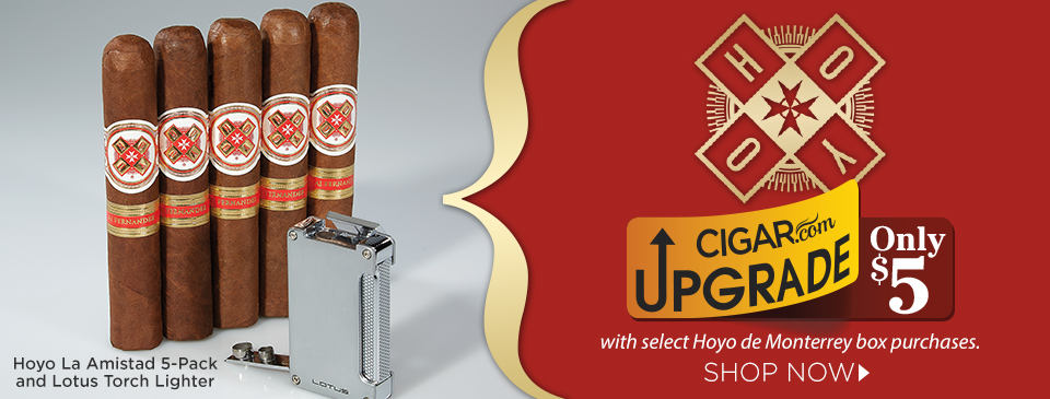 5 Pack of Hoyo La Amistad and Lotus Torch Lighter Just $5 w/ Select Box Purchase!