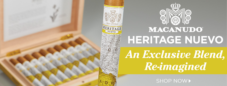 Macanudo Heritage Nuevo: An Exclusive Blend, Re-imagined.