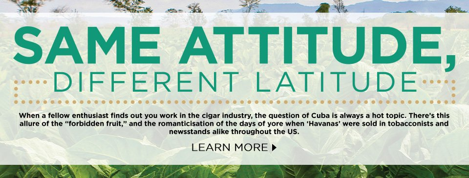 Article: Same Attitude, Different Latitude