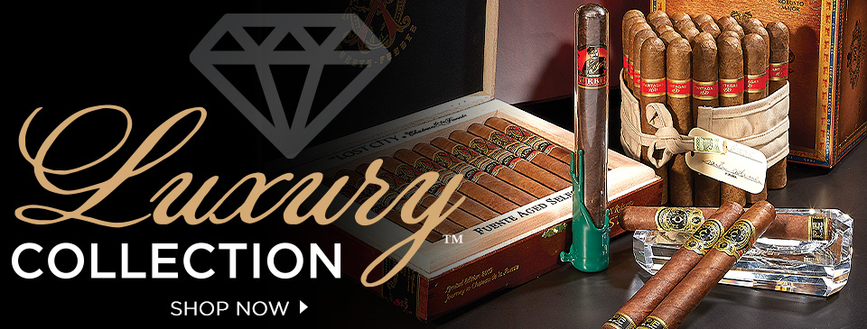 CIGAR.com Luxury Collection - Shop Now for rare, premium cigars!