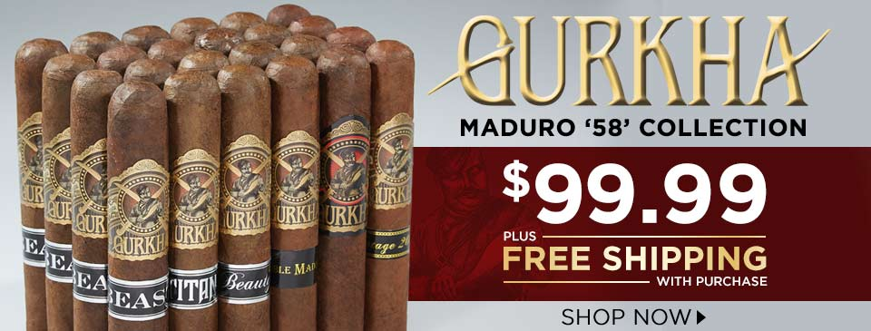 Dark, Bold, and Big Ringed Gurkhas for Only $99.99 Plus FREE Shipping!