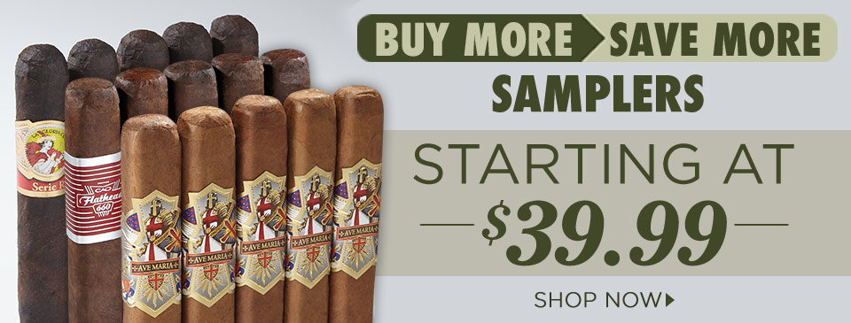 Buy More Save More Samplers
