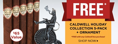 FREE Caldwell Holiday Collection with Caldwell box purchase!