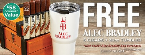 FREE Alec Bradley Ultimate Combo with select Alec Bradley box purchases!