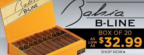 Bahia B-Line Box of 20 as low as $32.99!