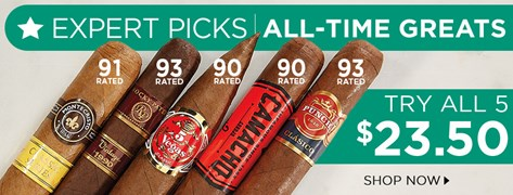 Expert Picks: All-Time Greats - Try All 5 for $23.50!