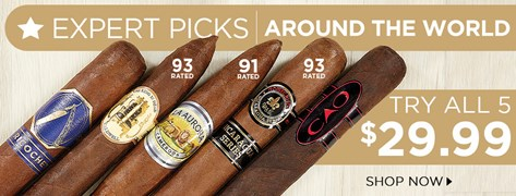 Expert Picks: Around The World - Try All 5 only $29.99!