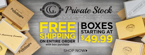 Vintage Cigars Starting at $49.99/Box!