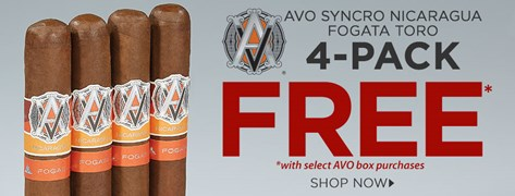 FREE AVO 4-Pack w/ Select Box Purchases!