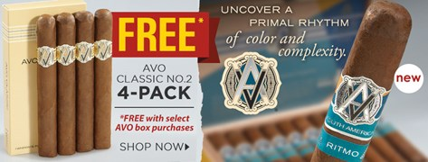 FREE AVO Classic No. 2 Pack of 4!