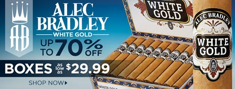 Boxes of Alec Bradley at up to 70% off!