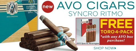 FREE AVO Sycnro Nicaragua 4-Pack