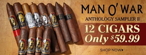 Man O' War Anthology Sampler II