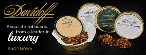 Pipe tobaccos from a leader in luxury!