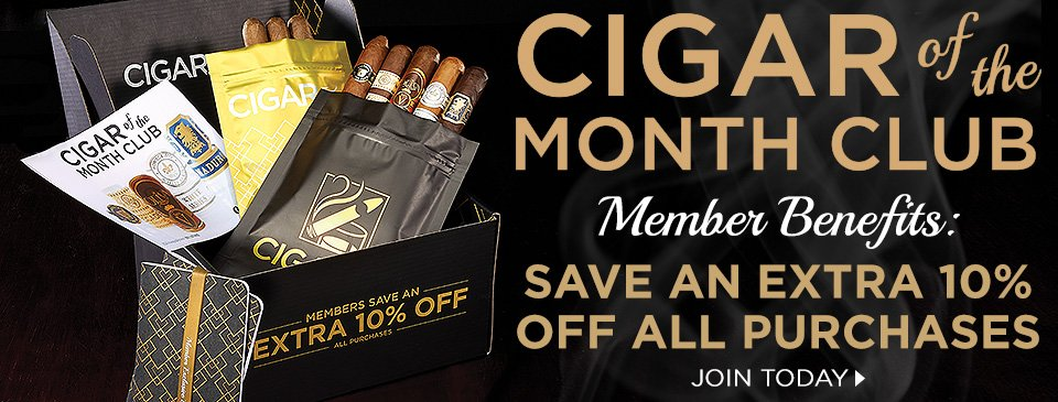 CIGAR.com's Cigar of the Month Club - Join Today!