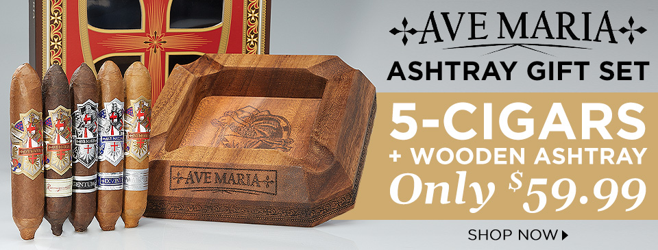 Ave Maria Ashtray Gift Set only $59.99 - Shop Now!
