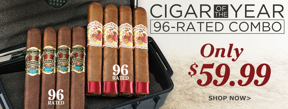 Cigar of the Year 96-Rated Combo