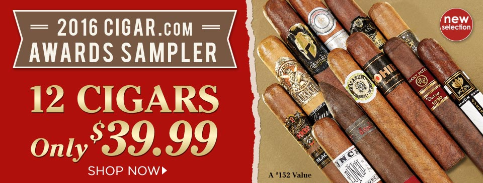 2016 CIGAR.com Awards Sampler
