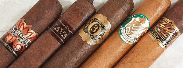 Drew Estate Tabak Especial, Erin Go Bragh, ACID Cigars Limited by Drew Estate Opulence 3, Java by Drew Estate, Drew Estate Natural
