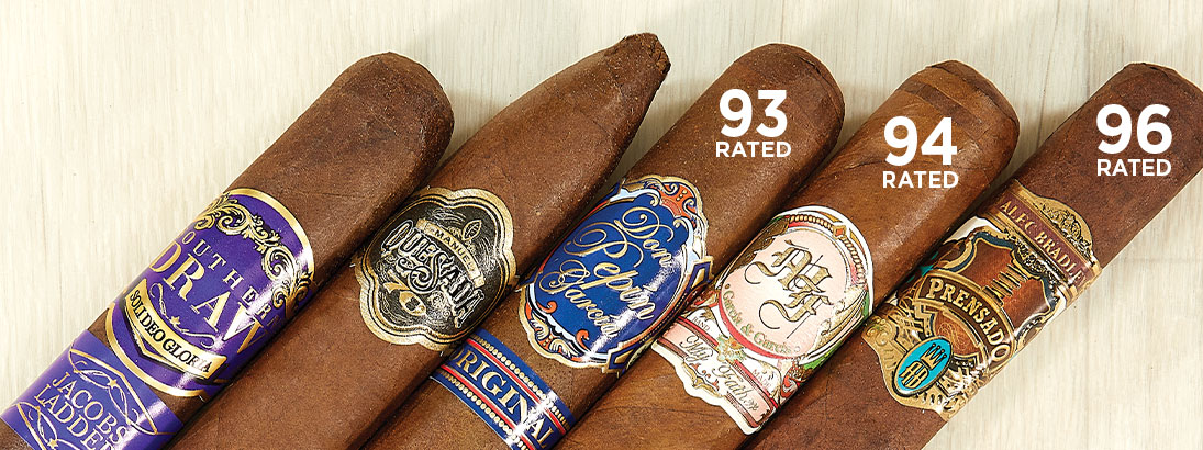 Alec Bradley Prensado, My Father, Don Pepin Garcia Blue, Manuel Quesada 70th, Southern Draw Jacob's Ladder