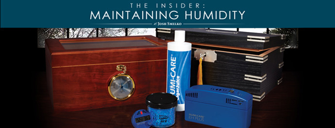 Maintaining Humidity