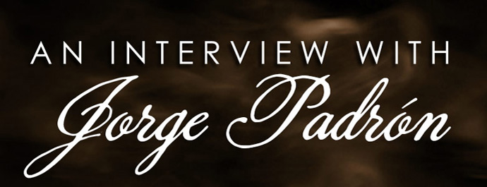 An Interview With Jorge Padron