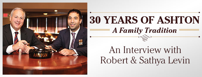 30 Years of Ashton: An Interview with Robert & Sathya Levin