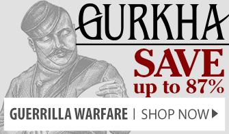 Save up to 87% on Gurkha Guerrilla Warfare