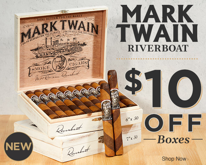 NEW: Mark Twain Riverboat - $10 OFF Boxes - Shop Now!