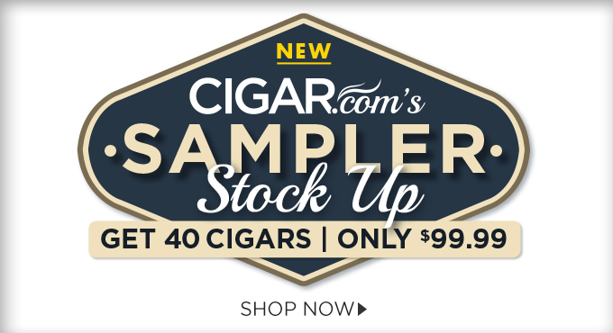 Stock Up and Save! Get 40 Cigars for On;y $99.99!