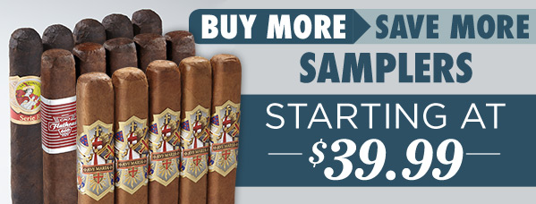 Buy More, Save More. Samplers starting at $39.99. Shop now!