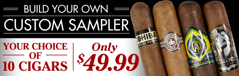 CIGAR.com Custom Sampler