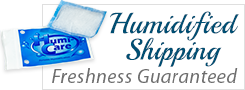 Humidified Shipping: Freshness Guaranteed