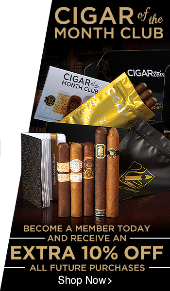 Join our Cigar of the Month Club Today!