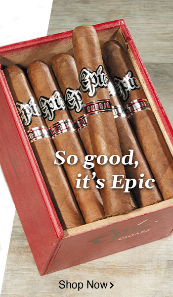 Epic Corojo Cigars - So good it's Epic - Shop Now!