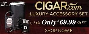 CIGAR.com Luxury Accessory Set