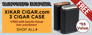 FREE Xikar CIGAR.com Case w/ Sancho Panza box purchases!