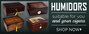 An Unmatched Selection of Humidors.