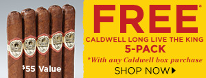 FREE Caldwell 5-Pack With Any Caldwell Box Purchases
