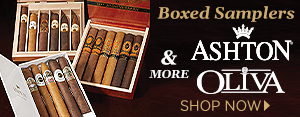 Boxed Samplers - Oliva, Ashton, and MORE - Shop Now!