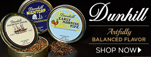 Explore Artfully Balanced Flavor with Dunhill Tins!
