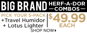 Big-Brand Herf-A-Dor Combos only $49.99!