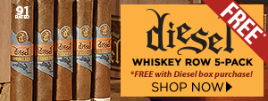 Diesel Whiskey Row pack only $5!